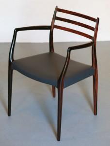 jl moller 78-moller carver-niels moller carver-rosewood 78 chair