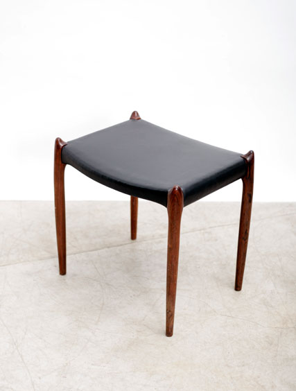 Niels Moller – Rosewood Ottoman