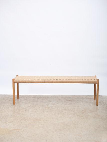 JL Moller – Oak Bench