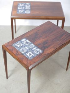 Rosewood Tables – Johannes Andersen for CFC Silkeborg